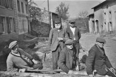 Dorfstrasse vor 80 Jahren