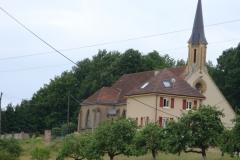Waldgebiet bei franz Kirche
