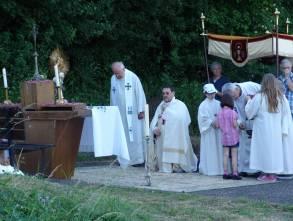 dritter Altar - Aufgang zur franz. Kirche