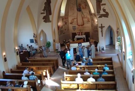 Vierter Altar - Kirche Jeanne DArc