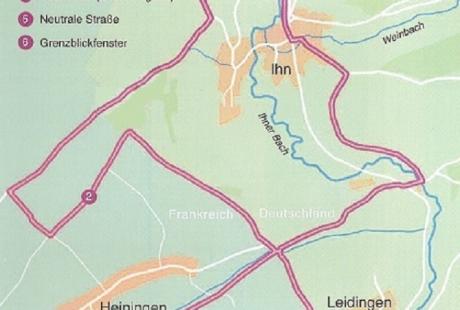 Karte Grenzblickweg 2