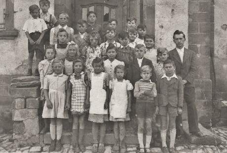 Klassenfoto von 1948