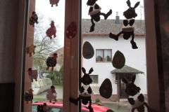 unsere tollen Osterfenster