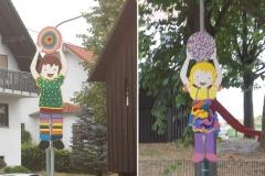 Spielplatzschilder
