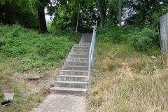 Treppenabgang Rundwanderweg