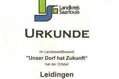 Urkunde Landkreis