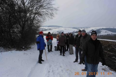 Winterwanderung Grenzblick